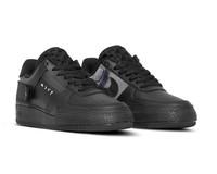 Nike Air Force 1  Type Black Photo Blue  Platinum Tint  AT7859 001