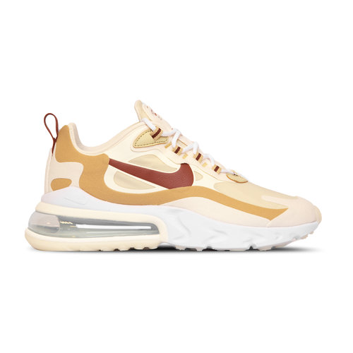 Air Max 270 React  Team Gold Cinnamon Club Gold Pale Ivory  AT6174 700