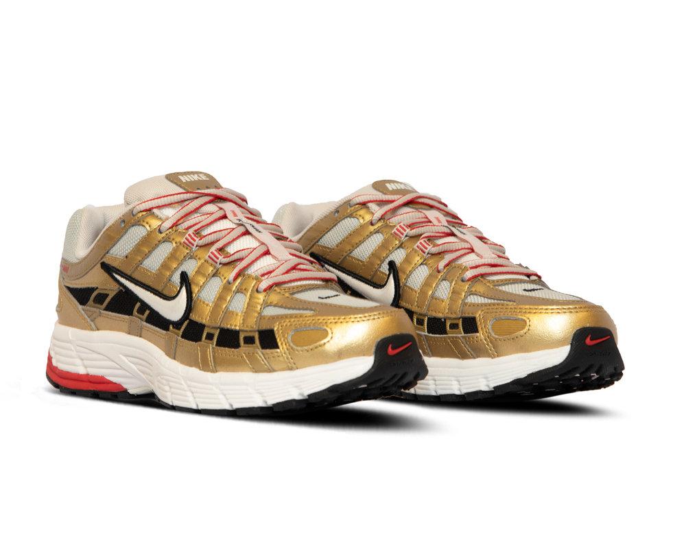 Nike P 6000  Light Bone Summit White Metallic Gold  BV1021 007