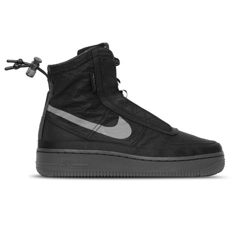 Air Force 1  Shell Black Dark Grey Black  BQ6096 001