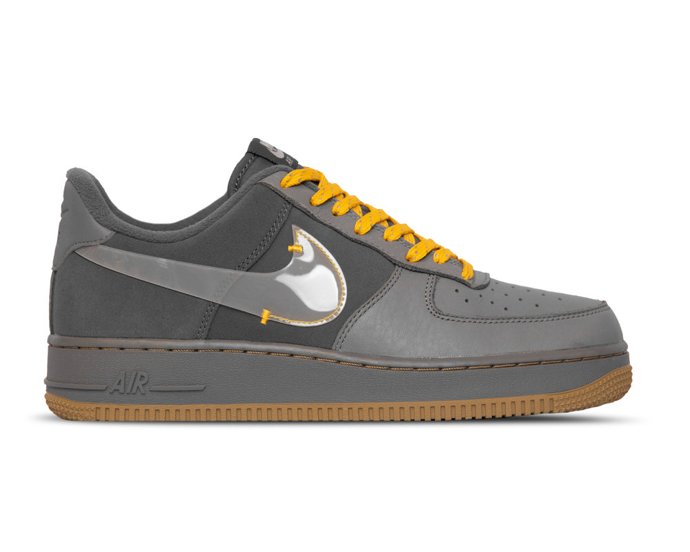 Nike Air Force 1  Premium Cool Grey Pure Platinum Dark Grey  CQ6367 001