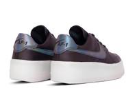 Nike Air Force 1 Sage Low LX  Oil Grey Blank White  AR5409 004