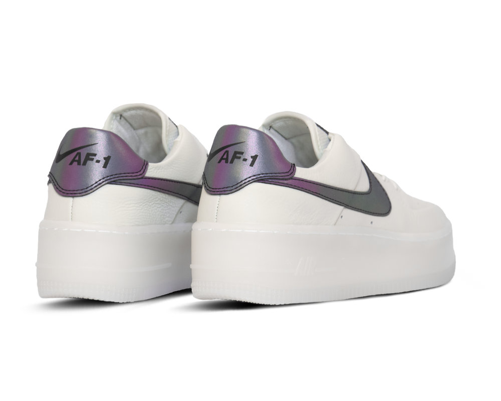 Nike Air Force 1 Sage Low LX  Spruce Aura Blank White  AR5409 003