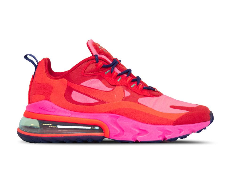 Nike Air Max 270 React Mystic Red Bright Crimson Pink Blast AT6174 600