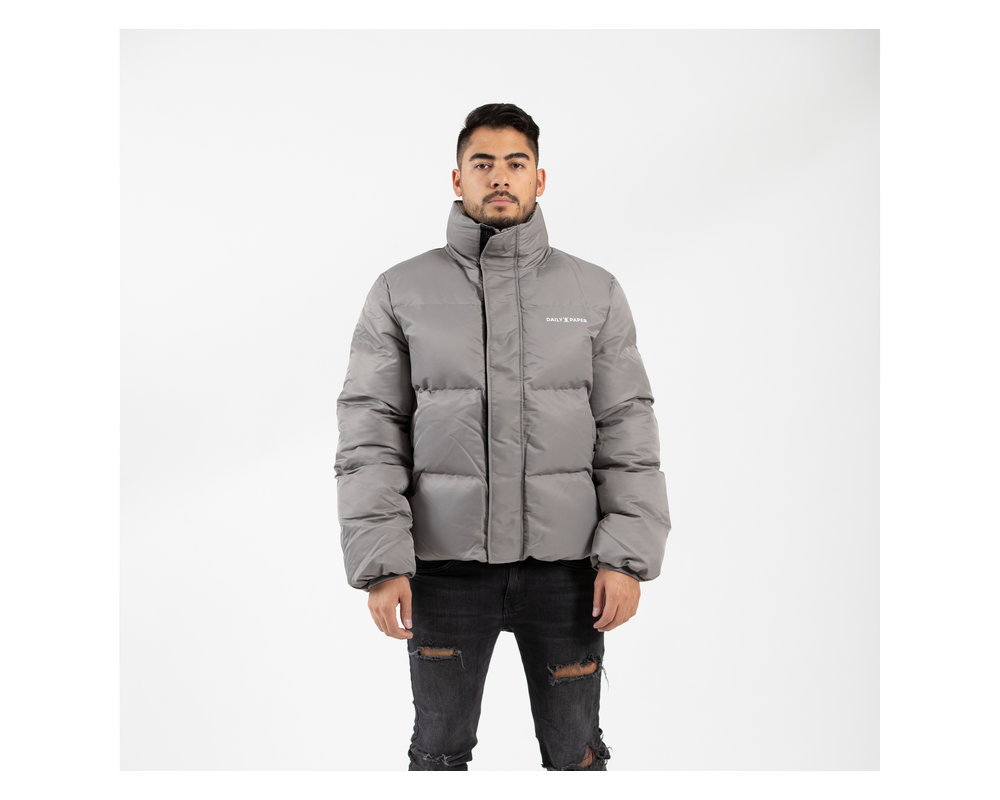 Daily Paper Core Puffer Grey Flannel 19F1OU13 03