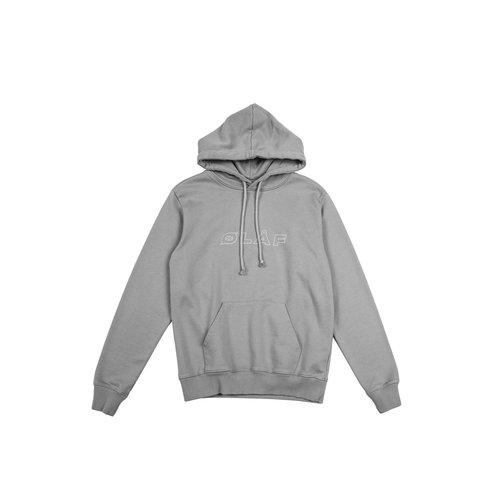 Reflective Italic Hoodie  Grey  19 0043