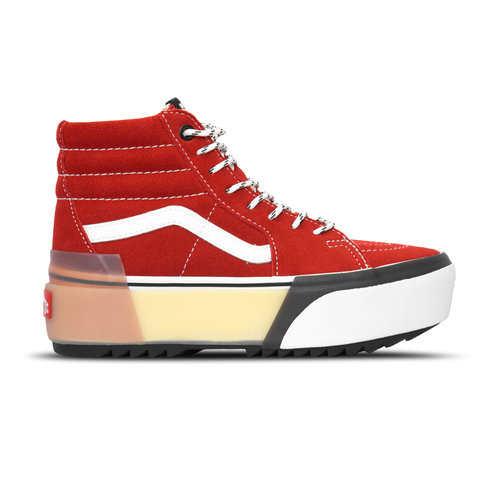 Sk8 Hi Stacked  Chili Pepper True White VN0A4BTW7ZG1