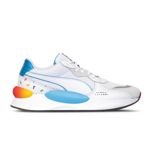 RS 9.8 x Tetris Puma White Luminous Blue 372490 01