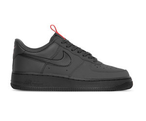 Nike Air Force 1 07 Anthracite Black University Red Black BQ4326 001
