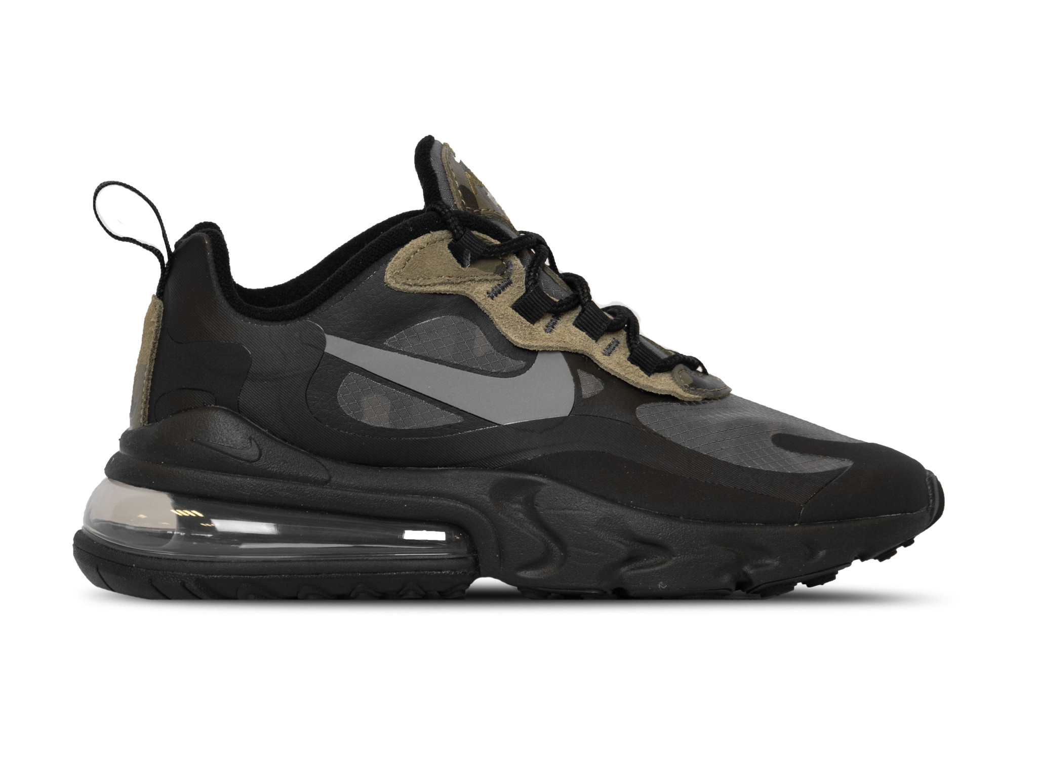 Nike Air Max 270 React Black White Anthracite CT5528 001 | Bruut
