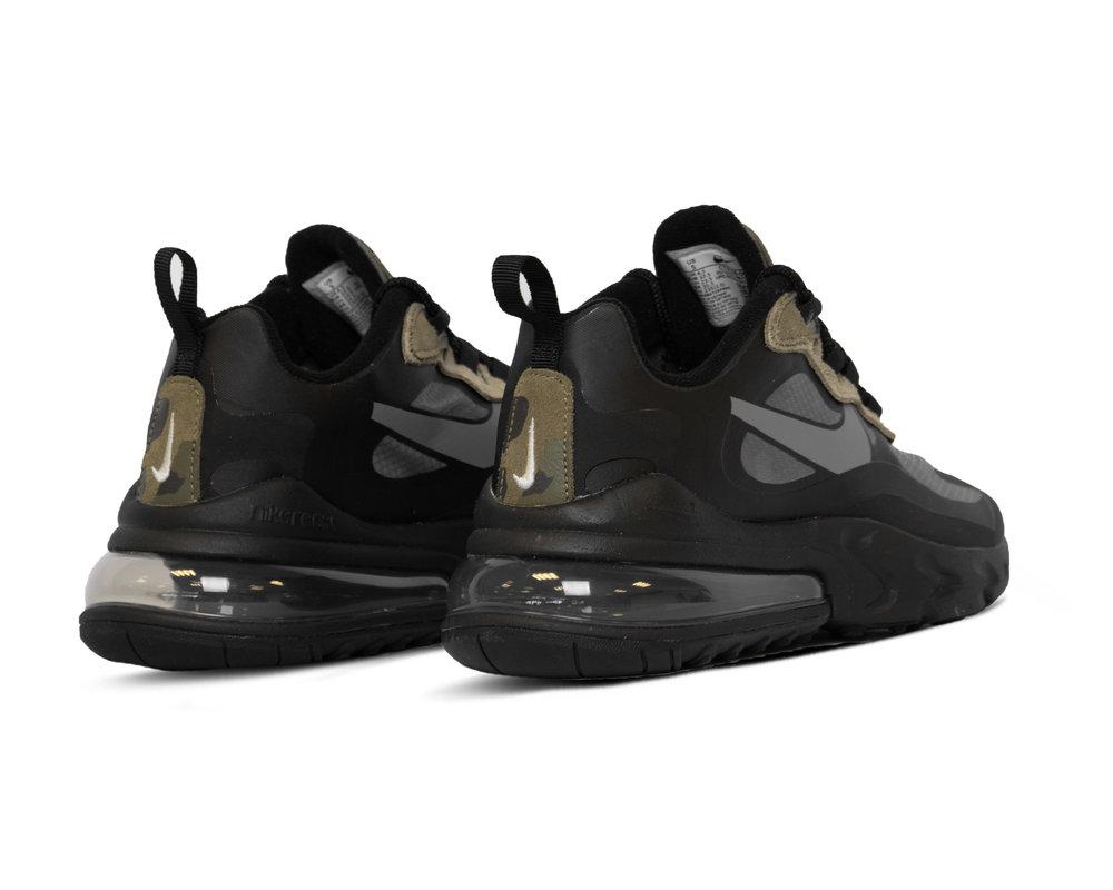 Nike Air Max 270 React  Black White Anthracite  CT5528 001