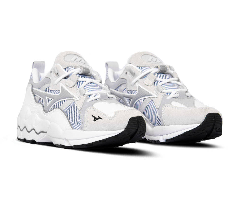 Mizuno Wave Rider 1  White High Rise D1GA193001