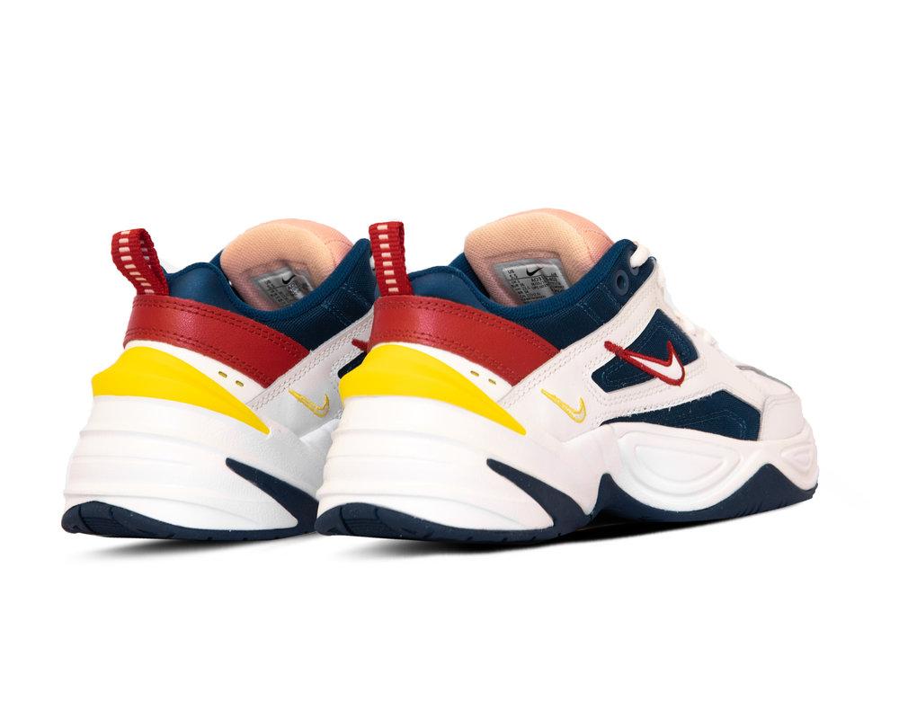 Nike M2K Tekno  Blue Force Summit White Chrome Yellow  AO3108 402