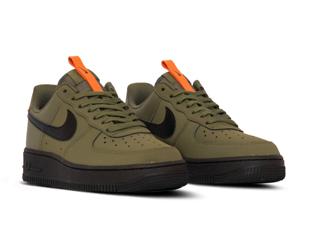 Nike Air Force 1 '07 Medium Olive Black Starfish BQ4326 200
