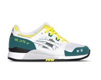 ASICS Gel Lyte III OG Women White Yellow 1191A178 100