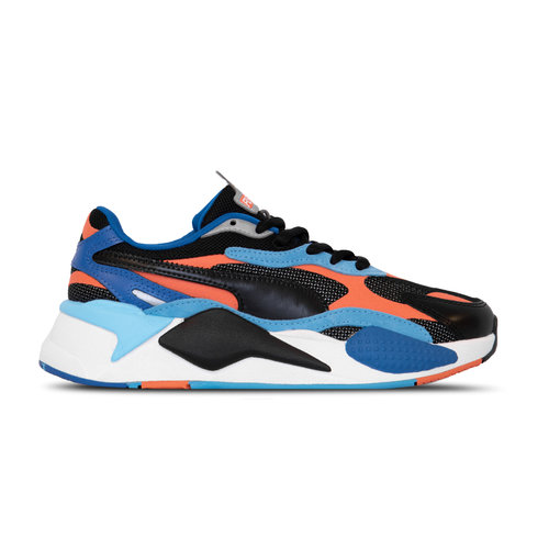 RS X³ Level Up Puma Black Hot Coral 373169 02