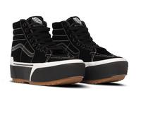 Vans Sk8 Hi Stacked  Suede Black Gum  VN0A4BTWLF91