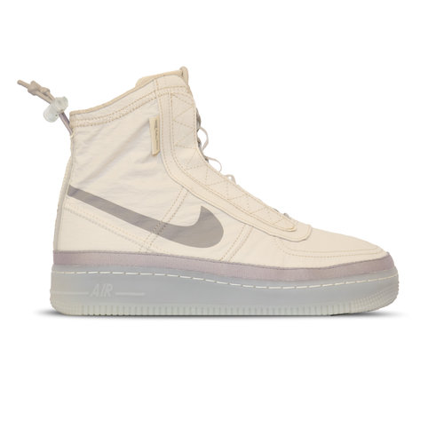 W Air Force 1 Shell Desert Sand Atmosphere Grey  BQ6096 002
