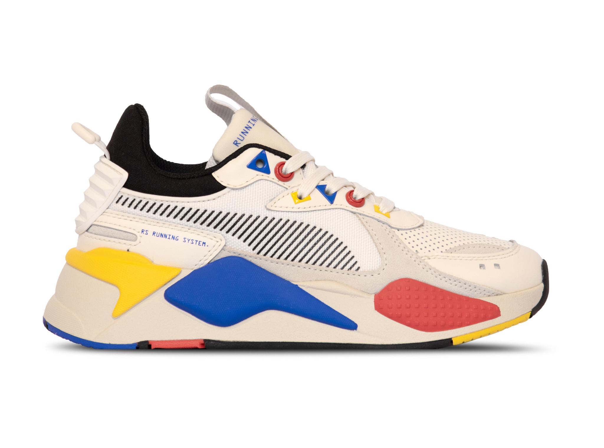 Puma Puma rs x colour theory whisper white sneaker Wit