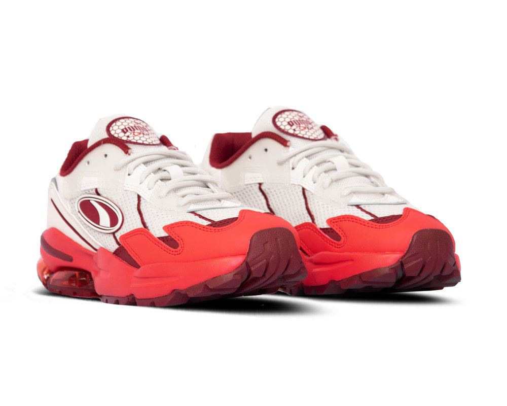 Puma Cell Ultra MDCL Whisper White High Risk Red 370850 02