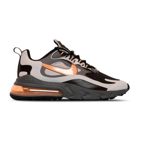 Air Max 270 React Wolf Grey Total Orange Black CD2049 006
