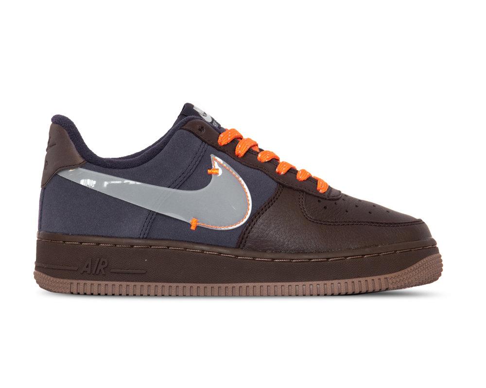 Nike Air Force 1 PRM  Burgundy Ash Celestine Blue  CQ6367 600