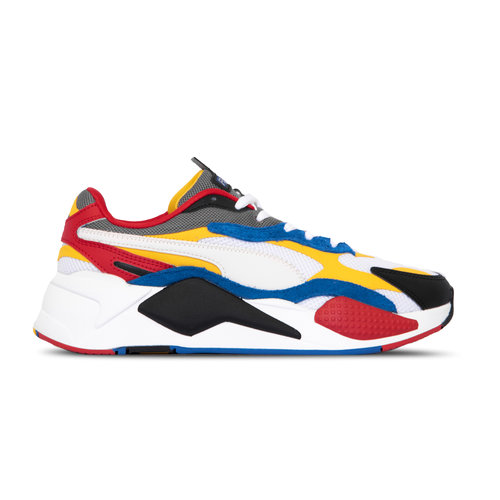 RS X³ Puzzle Puma White Spectra Yellow Puma Black  371570 04
