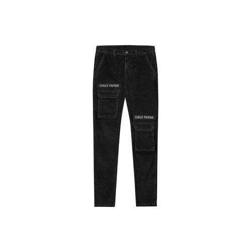 Cargo Pants Corduroy Black 19H1PA02 04