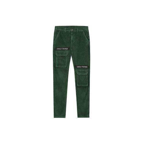 Cargo Pants Corduroy Green 19H1PA02 01