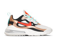 Nike Air Max 270 React  Sail Black Mtlc Red Bronze Pure Platinum  CT3428 100