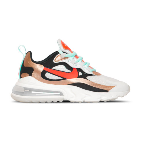 Air Max 270 React  Sail Black Mtlc Red Bronze Pure Platinum  CT3428 100