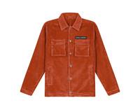 Daily Paper Cargo Jacket Corduroy Orange 19H1OU01 03
