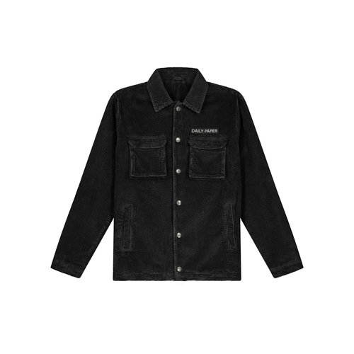 Cargo Jacket Corduroy Black 19H1OU01 04