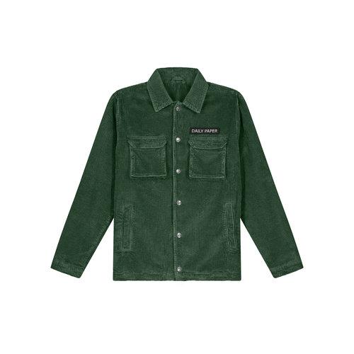 Cargo Jacket Corduroy Green 19H1OU01 01