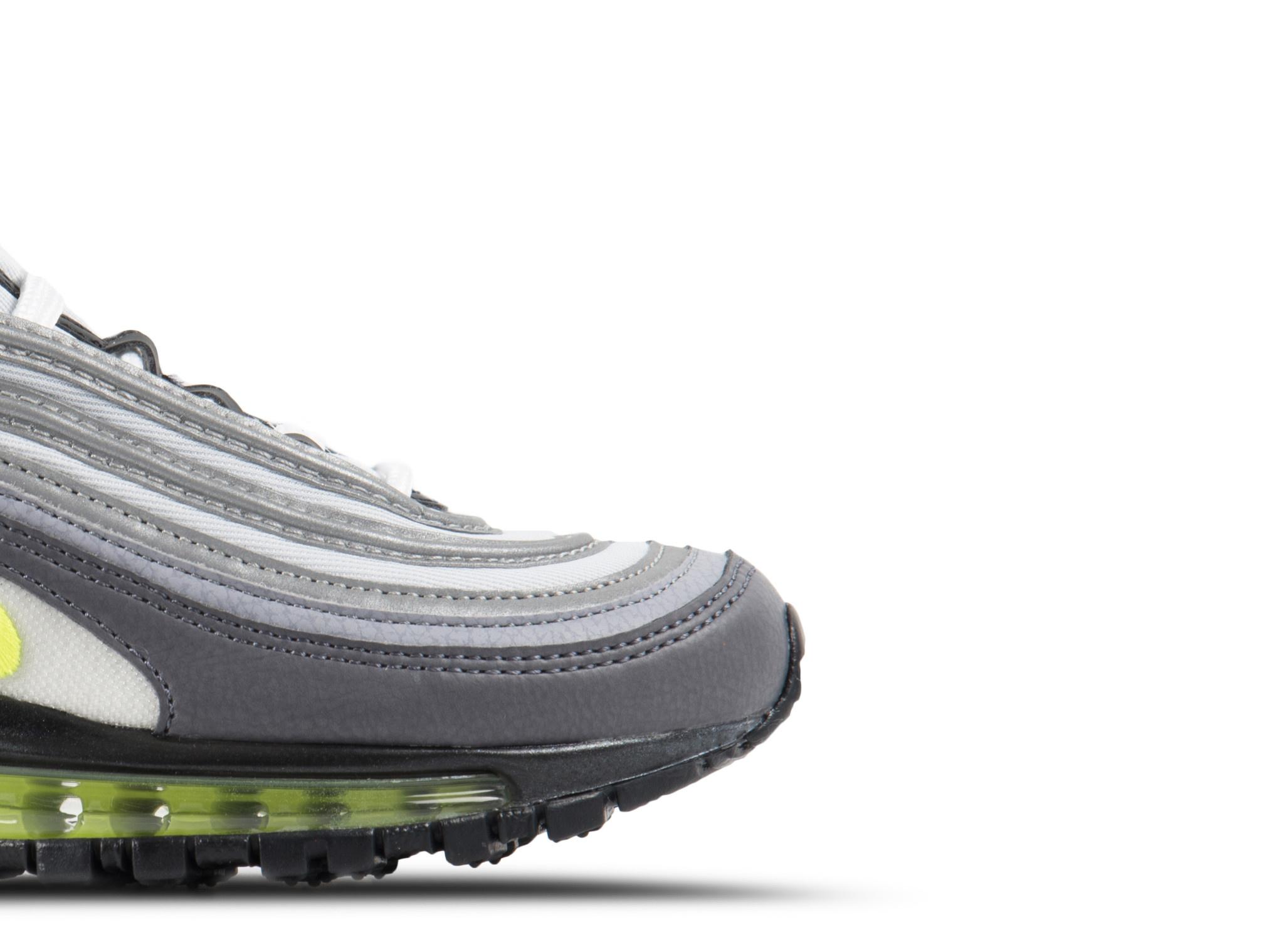 Nike W Air Max 97 Dark Grey Volt Stealth Pure Platinum 921733 003