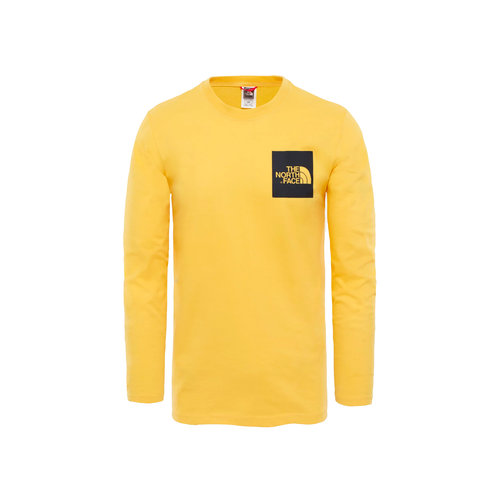 Fine Tee LS TNF Yellow T937FT70M
