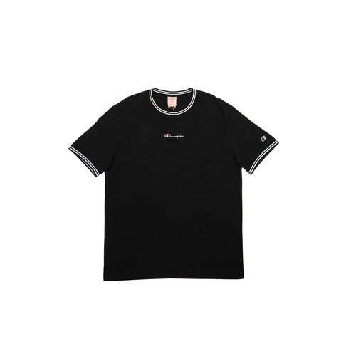 Crewneck T Shirt Black 213034 S19 KK001