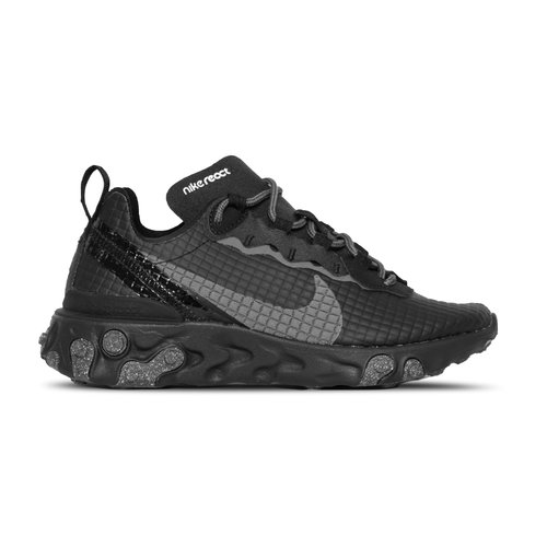 React Element 55  Premium Black Dark Grey Anthracite  CI3835 002