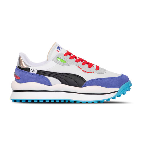 Style Rider Ride On  Puma White Dazz Blue High Rise 372839 01