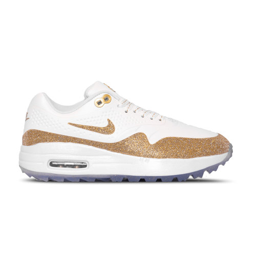 Air Max 1 x Swarovski Summit White Metallic Gold White BV0658 111