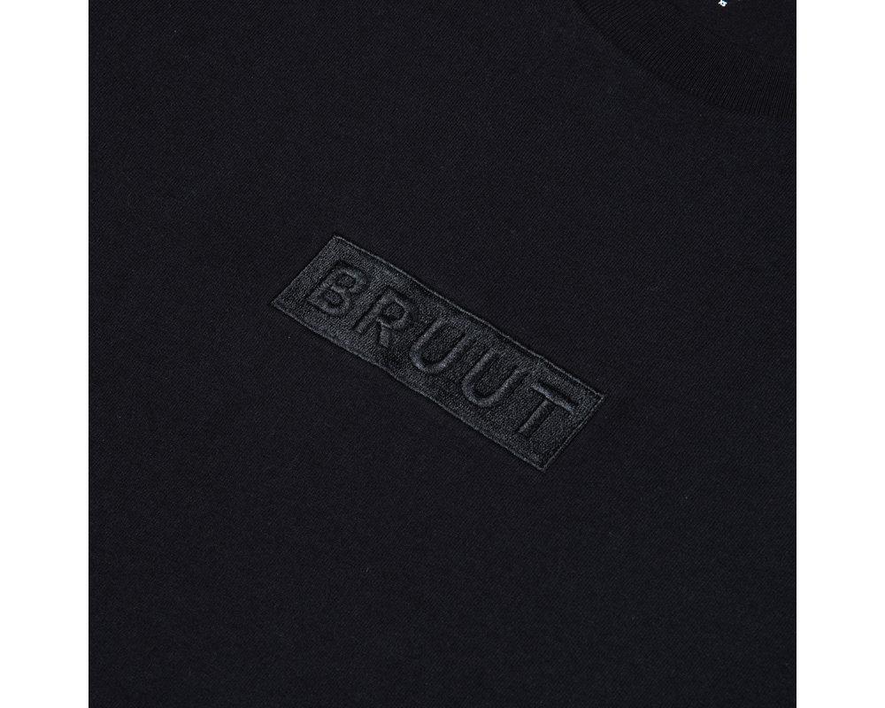 Bruut Box Logo Tee Black Vulcan HFD041