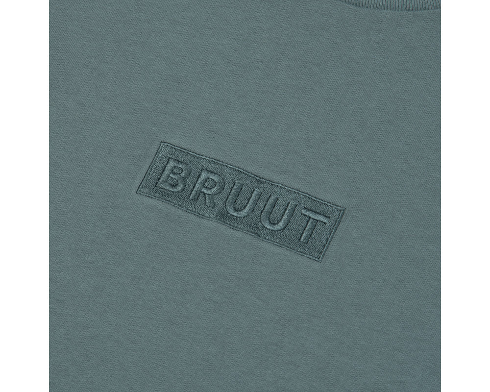 Bruut Box Logo Tee Sky Mint HFD042