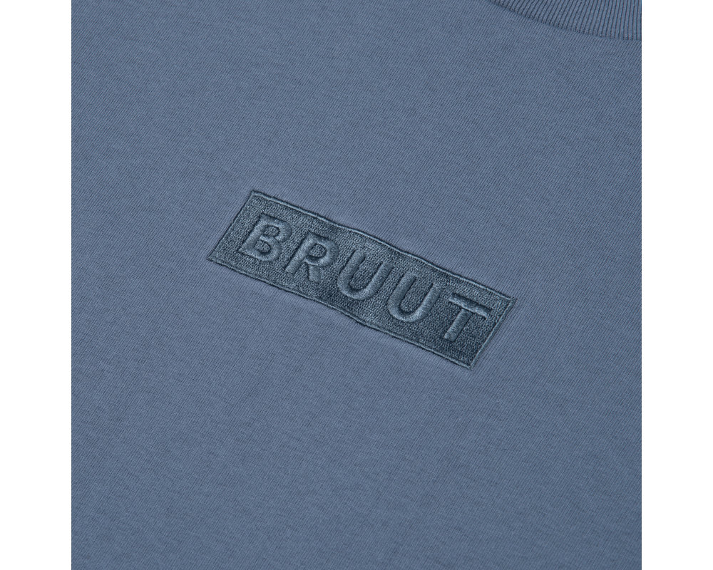 Bruut Box Logo Tee Salty Sea HFD043