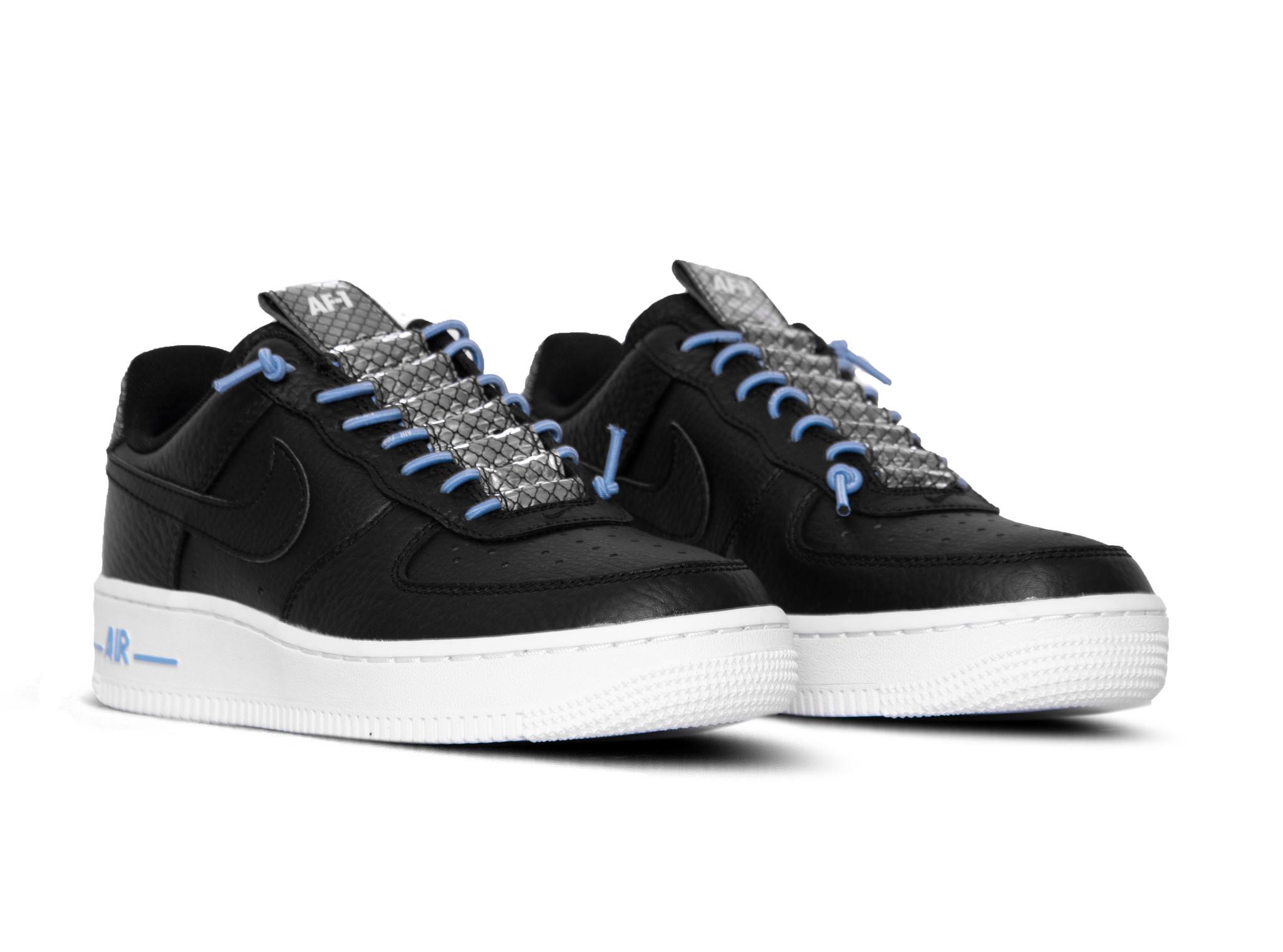 Nike Air Force 1 '07 LUX Black Light Blue White 898889 015