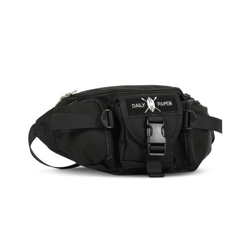 Black Multi Pocket Waist Bag 2.0