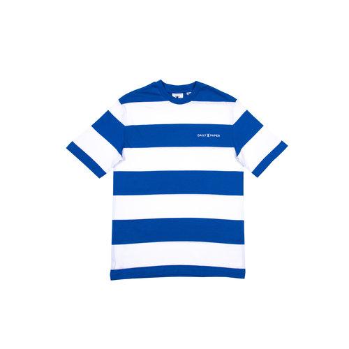 Striped T Shirt  Olympian Blue  20E1TS03 01