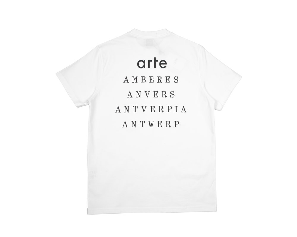 Arte Antwerp Thomas Antverpia  White SS20 045T