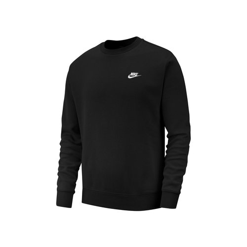 NSW Club Crewneck Black White BV2662 010