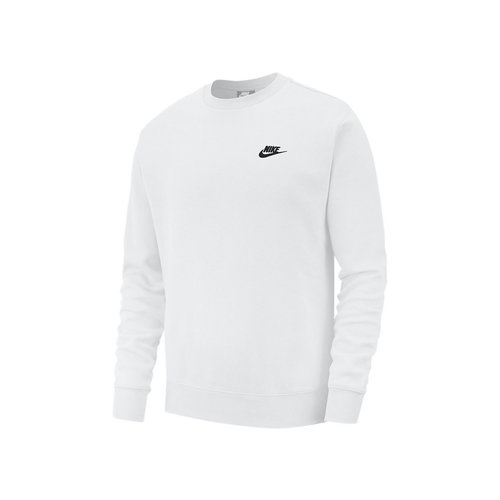 NSW Club Crewneck   White Black BV2662 100