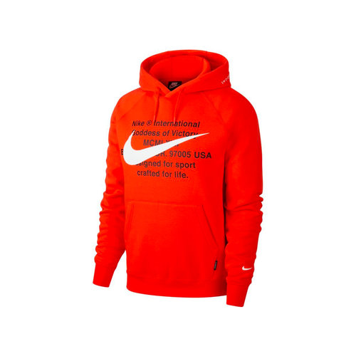 NSW Swoosh Hoodie   University Red White CJ4861 657